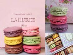 Macaroons Ladurée, delicatessen de la Haute Couture