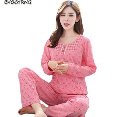 953a6bcf0c 2018 Spring Autumn Sleepwear High-end Women Pajamas Sets Plus Size Female  Long Sleeve Pajama Suit Women Homewear Suit Price history.