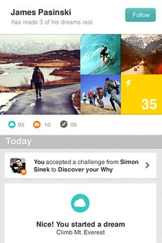 Everest - Live your dreams :: so excited for this app to debut! it's looking fantastic!
