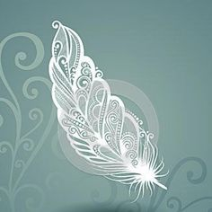 Caliber With The Pairless Feather In The Floral Background Vector Illustration - Illustration of object, beautiful: 40465518 - Caliber with the feather without pair with the flowery background - Tattoo Mandala Feminina, Mandala Arm Tattoo, Mandala Feather, Feather Art, Flower Mandala, Mandala Art, Feather Vector, Alas Tattoo, Tattoo L