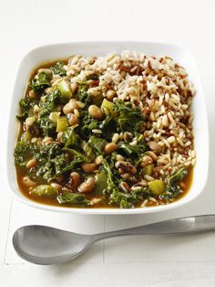 Yummy, Yummy. Vegetable Gumbo   Frozen black-eyed peas and quick-cooking Swiss chard make this vegan stew a super-fast supper. Soy sauce and smoked paprika give it slow-simmered flavor, fast.