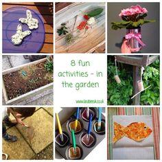 LarabeeUK: |FUN|8 fun activities - in the garden