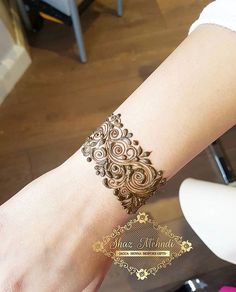 Henna cuff designs Which is your fav?