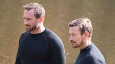 Foxy and Ollie Ant Middleton, Jason Statham, Alpha Male, Dares, My Hero, Beautiful People, Tv Shows, Channel, Handsome