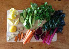Rainbow Veg Juice Health Programs, Healthy Juices, Asparagus, Rainbow, Diet, Vegetables, Recipes, Food, Rain Bow