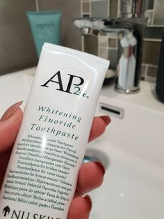 AP 24 Anti-Plaque Fluoride Toothpaste uses a safe, gentle form of fluoride to remove plaque and protect against tooth decay. Nu Skin, Whitening Fluoride Toothpaste, Teeth Whitening, Stained Teeth, White Teeth, Oral Hygiene, Vodka Bottle, Beauty Products, Pasta