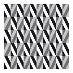 op art black white and gray diamonds