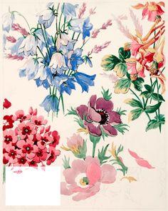 Textile Design Winifred Mold 1930
