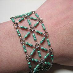 Handmade Recycled Computer Part Jewelry by sherrishempdesigns, $37.00