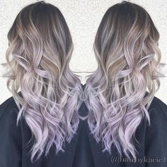 Image result for lilac balayage hair