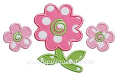 Flowers Applique Design