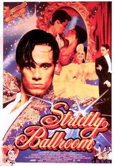 """Strictly Ballroom (1992) poster """"Vem dançar comigo"""" no Brasil http://www.imdb.com/title/tt0105488/"""