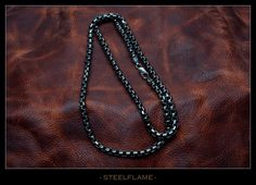 Steel Flame Inc - Necklace - KillBox 5mm, $430.00 (http://www.steelflame.com/necklace-killbox-5mm/)