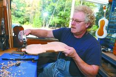 Belsano violin craftsman brings family, famous tradition to modern craft - by Beth Ann Downey, The Altoona Mirror
