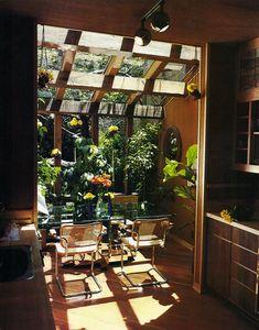 So beautiful. Like a sunny tropical yet modern jungle