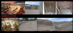 La preistorica cultura Hohokam ha creato, oltre il complesso sistema di canali per l'irigazione, anche insediamenti più complessi come quello di Pueblo Grande. Verso il 1450 D.C. il sito fu abbandonato. Pueblo Grande disponeva di almeno tre sferisteri e di un ampio tumulo piattaforma con muri di sostegno, sormontato da strutture murarie di chiara influenza mesoamericana e di molte abitazioni in adobe di influenza Anasazi.