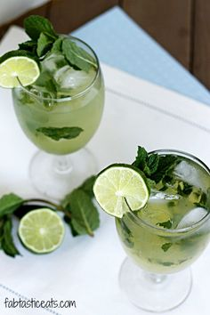Mint and ginger come together to make an extremely refreshing and delightful Ginger Beer Mojito!