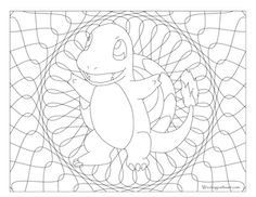 Charmander Pokemon 004 Coloring PagesGeek