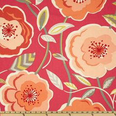 Order swatch        P Kaufmann Poppy's Galore Raspberry                                      Item Number: UO-478                                                                                                                                     Our Price:      $16.98 per Yard