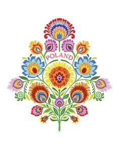 Polish Wycinanki Paper cut Folk Art by Mary Tanana Folk Art Flowers, Flower Art, Polish Folk Art, Scandinavian Folk Art, Arts Ed, Paper Cutting, How To Draw Hands, Art Prints, Wall Art