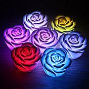 Romantic Rose Shaped 7 Colors Changing LED Ni... – EUR € 2.47