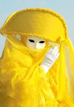 Yellow mask, masquerade, Mardi Gras, Carnivale, Carnival.