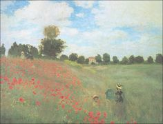 Artify Collections - Poppies Blooming, 1873 By Claude Monet, $105.55 (http://artifycollections.com/poppies-blooming-1873-by-claude-monet/)