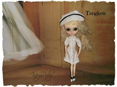 Tangkou  Nurse Dress and Hat Vintage Inspired  by by KarynRuby