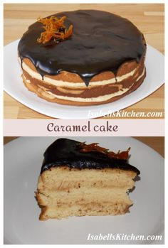 Caramel cake - video recipe - isabell's kitchen
