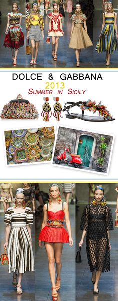 Summer in Sicily - Dolce and Gabbana