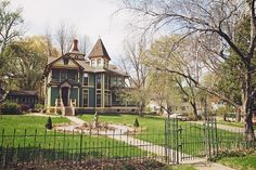 a block away from my house... Victorian house in Stillwater, Minnesota