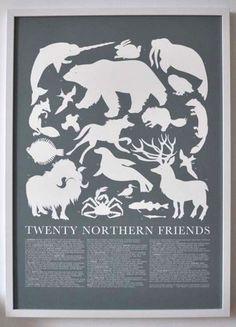 affiche animaux