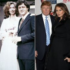 The Kuykendall Post: MELANIA TRUMP & HILARY CLINTON (STANDING BY THEIR ...