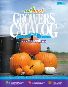 69 Free Seed and Plant Catalogs: NESeed Seed Catalog