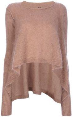 ShopStyle: Rick Owens draped sweater
