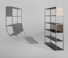 New Order Home Vertical Shelf With Panels von Hay   Regalsysteme