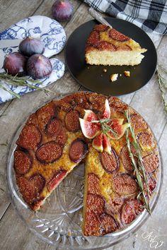 Aux délices de Vany: Gâteau renversé figues, miel & romarin (Battle Food #45)