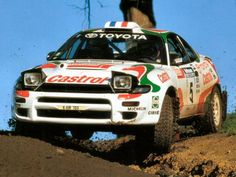 Toyota Celica rally car