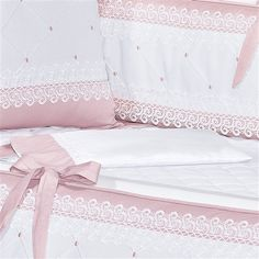 This Pin was discovered by Ker Baby Bedding Sets, Cot Bedding, Baby Pillows, Baby Girl Nursery Decor, Baby Decor, Baby Room, Baby Hammock, Crochet Baby Dress Pattern, Cot Bumper