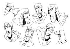 Kévin Roualland - Character Design Page Man Character, Character Concept, Character Profile, Character Design Animation, Character Design References, Art Costumes, Composition Design, Animation Reference, Sketch Design