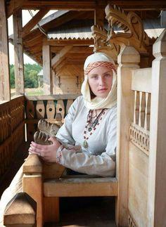 Slavic woman Rus