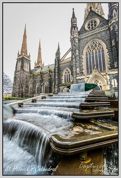 St.Patrick's Cathedral, Melbourne #Australia (Does every major city have a St. Patrick's?)