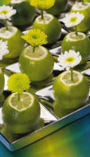 Limes as vases