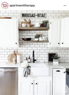 this. but with darker cabinets below the counter.