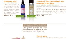 pour la presse Orange Blossom, Flowers