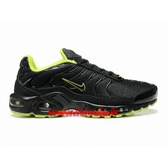 chaussures-nike-sportswear-pas-cher-pour-homme-nike-air-max-tn-tuned-requin-mesh-black-green-604133-613-199.jpg (750×750)