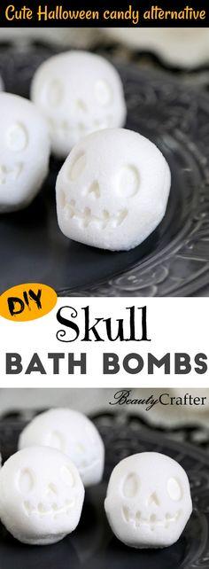 Skull Bath Bomb DIY
