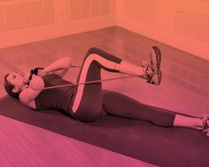 6 Resistance-Band Moves for a Full-Body Burn