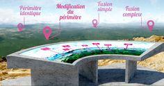 Panorama de la nouvelle carte intercommunale