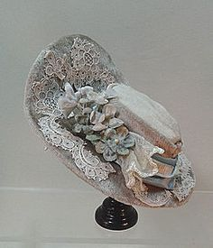 Exquisite Silk Velvet Chapeau Bonnet  for Bebe or Fashion - TRES BELLE POUPEE on DOLL SHOPS UNITED http://www.dollshopsunited.com/stores/tresbellepoupee/items/1281158/Exquisite-Silk-Velvet-Chapeau-Bonnet-for-Bebe-Fashion #dollshopsunited